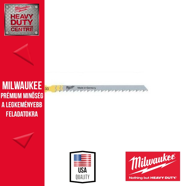 Milwaukee T 301 CD Szúrófűrészlap 5 db