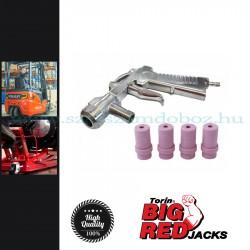 Torin Homokfúvó pisztoly + fúvóka készlet sbc220/350e/360-as homokfúvó szekrényhez