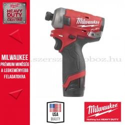 """MILWAUKEE M12 FQID-202X 1/4"""" HEX HIDRAULIKUS ÜTVECSAVAROZÓ"""