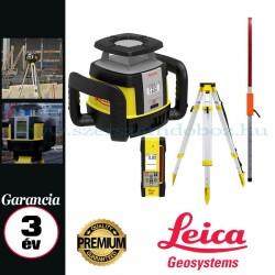 Leica Rugby CLH Basic forgólézer + COMBO érzékelő és távirányító,állvánnyal,flexi léccel