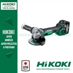 Hitachi (HiKOKI) G18DBBVL-BASIC-125-8Ah Ford.szab. szénkefementes sarokcsiszoló