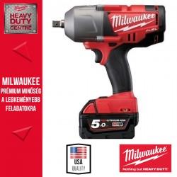 """Milwaukee M18 CHIWF12-502C Ütvecsavarbehajtó 1/2"""" 950Nm"""