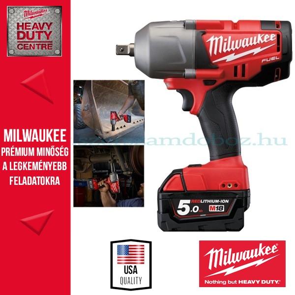 """Milwaukee M18 CHIWP12-502C Ütvecsavarbehajtó 1/2"""" 813Nm"""