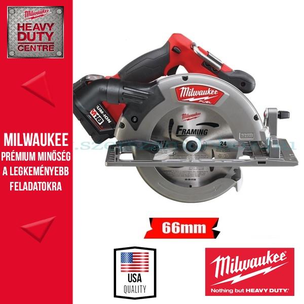 Milwaukee M18 CCS66-502C akkus körfűrész