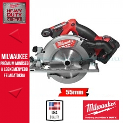 Milwaukee M18 CCS55-502C akkus körfűrész