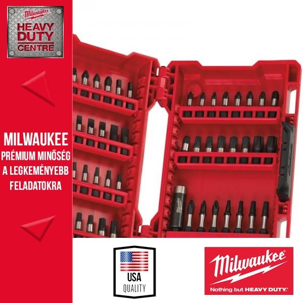 """Milwaukee """"SHOCKWAVE"""" 56db-os csavarbehajtó bitkészlet"""
