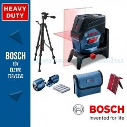 BOSCH GCL 2-50 C Professional kombilézer,4 x elemmel (AA),BT150 állvánnyal,tartozékkészlettel