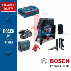 BOSCH GCL 2-50 C Professional kombilézer L-BOXX tárolóban, 1 x 2,0 Ah akkuval, tartozékkészlettel