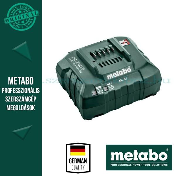 Metabo ASC 55 AIR-COOLED Töltő