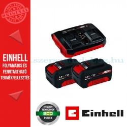 Einhell 2x3,0Ah & Twincharger Kit Akku és töltő szett