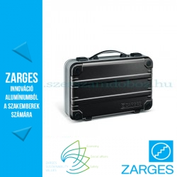 ZARGES K 411 koffer bélelt 470x350x130mm