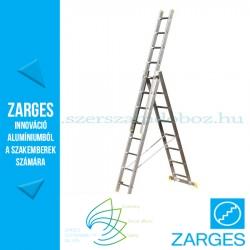 ZARGES EUROSTAR háromrészes sokcélú létra 3x8 fokos