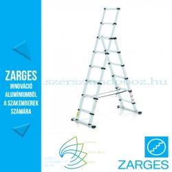 ZARGES TELESTEPS Teleszkópos kombi létra 6+2 fokos