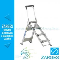 ZARGES Plazastep P fellépő 0,88m biztonsági kengyellel