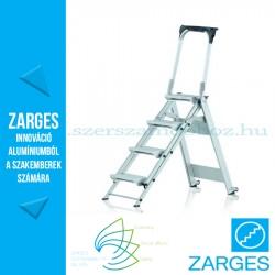 ZARGES Plazastep P fellépő 1,1m biztonsági kengyellel