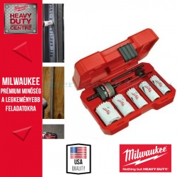 "Milwaukee ""HOLE-DOZER"" dobozfúró készlet 8 darab"