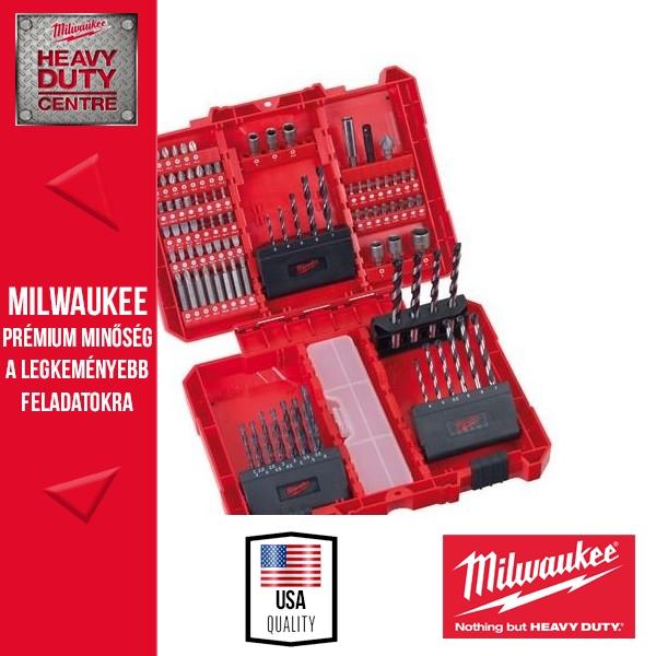 Milwaukee 100 darabos Építőipari szett