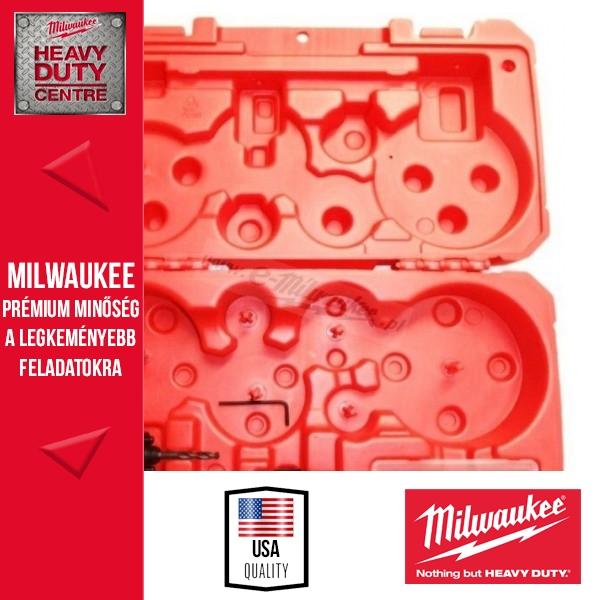 Milwaukee Tároló doboz lyukfűrészekhez