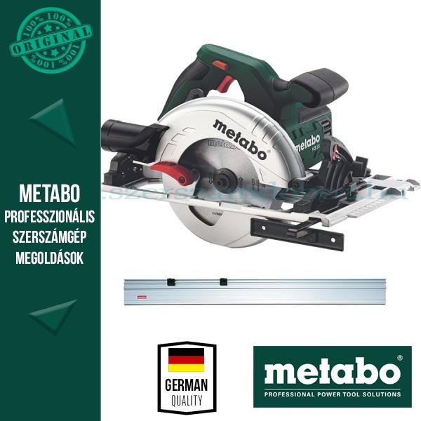 Metabo KS 55 FS Körfűrész+vezetősín