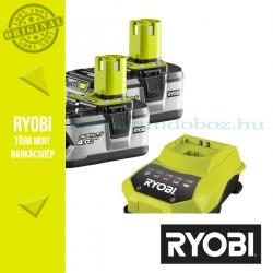 Ryobi 2x4,0h Li-Ion akkumulátor RBC18LL40 + töltő csomag