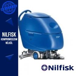 Nilfisk-ALTO Scrubtec 553B Akkus Combi Padlótisztító