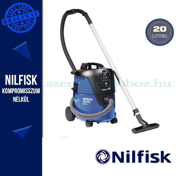 Nilfisk-ALTO Aero 21-21 PC száraz-nedves ipari porszívó