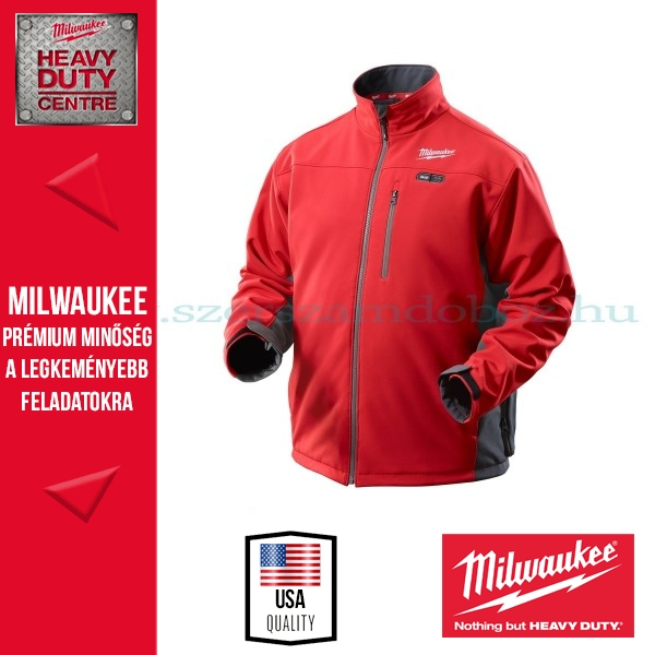 Milwaukee M12 HJRED2-0 L fűthető kabát
