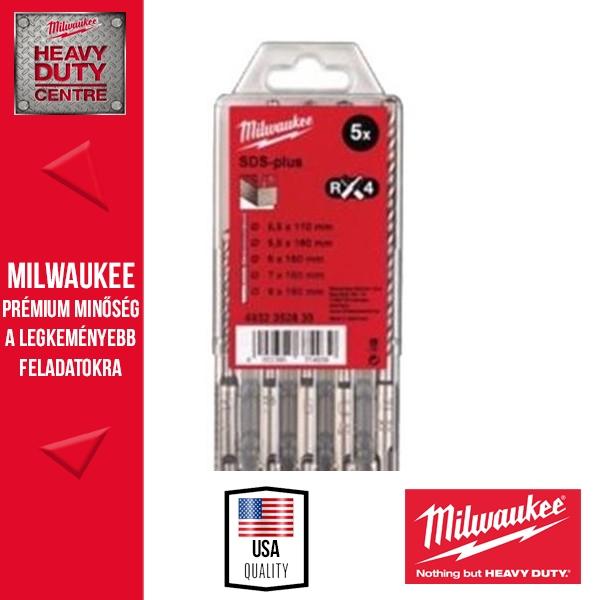 Milwaukee SDS-plus Fúrószár szett 5 db