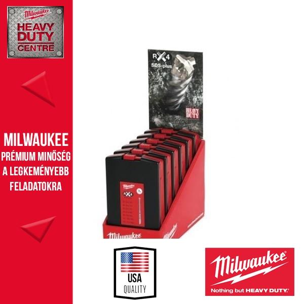 Milwaukee SDS-plus Fúrószár szett 7 db x 6