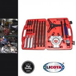 Licota Hidraulikus csapágy szétválasztó és lehúzó készlet, 10t, 20 darabos