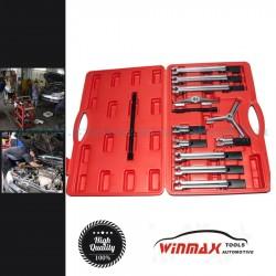 Winmax Univerzális csapágylehúzó készlet, 2 és 3 körmös, 30-140mm, 13 darabos