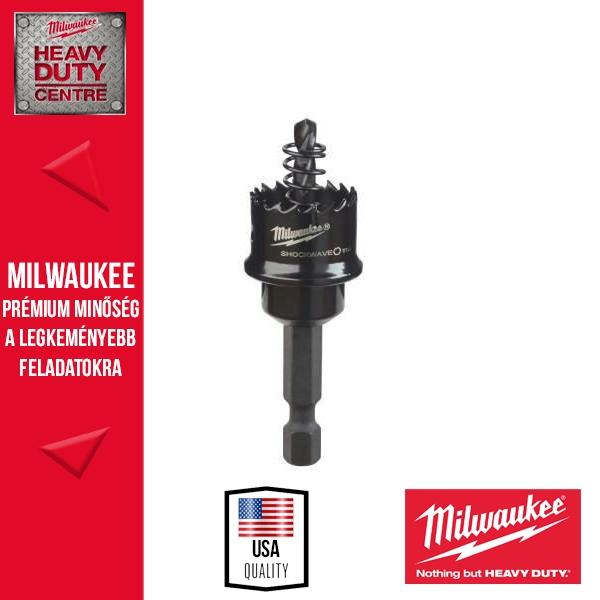 Milwaukee SHOCKWAVE Lyukfűrész 22 mm