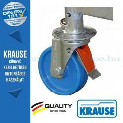 Krause ClimTech Alu munkaállvány kerékkészlet 125mm