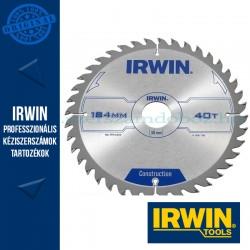 IRWIN Kézi körfűrészlap fához 184/30mm 40ATB