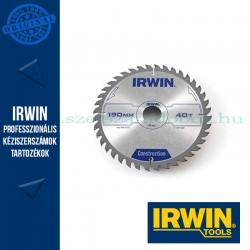 IRWIN Kézi körfűrészlap fához 190/30mm 40ATB