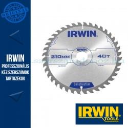 IRWIN Kézi körfűrészlap fához 210/30mm 40ATB