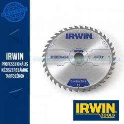 IRWIN Kézi körfűrészlap fához 230/30mm 40ATB