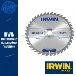 IRWIN Körfűrészlap fához, állványos gépekhez 315/30mm 40ATB