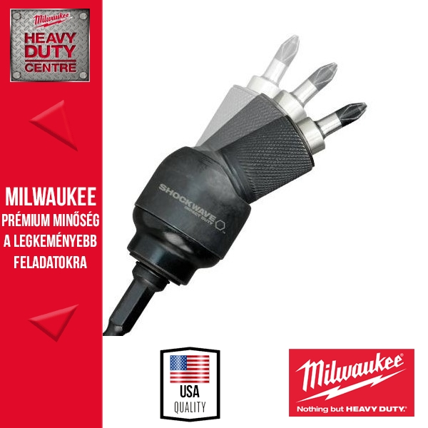 Milwaukee SHOCKWAVE KNUCKLE Adapter