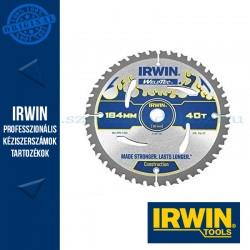 IRWIN Kézi körfűrészlap fához 184/16mm 40ATB