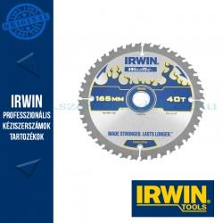 IRWIN körfűrészlap kézi akkumulátoros körfűrészhez 165/20mm 40ATB