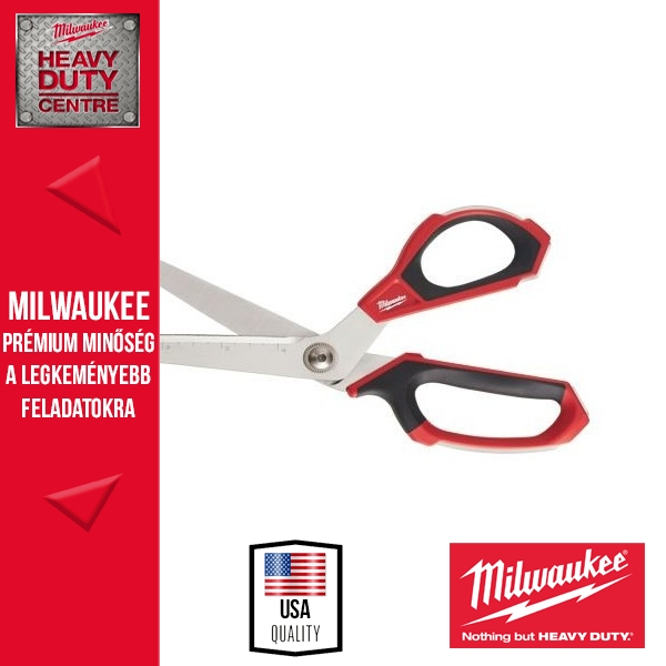 Milwaukee Ipari olló hajlított