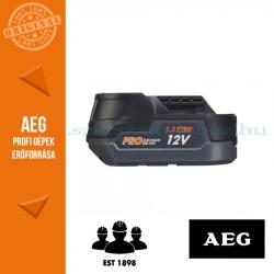AEG L1215R Pro Li-ion akkumulátor, 12 V, 1.5 Ah