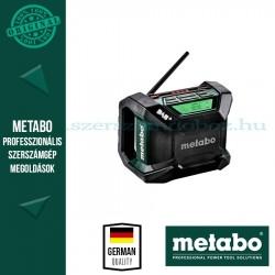 METABO R 12-18 DAB+ BT AKKUS ÉPÍTKEZÉSI RÁDIÓ ALAPGÉP