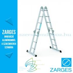 ZARGES Multitec M többcélú létra 2x3 + 2x4 fokos