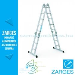 ZARGES Multitec M többcélú létra 2x3 + 2x5 fokos