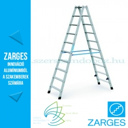 ZARGES Nova B két oldalon járható állólétra 2x10 fokos