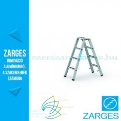 ZARGES Saferstep B két oldalon járható állólétra 2x4 fok