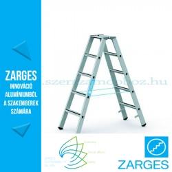 ZARGES Saferstep B két oldalon járható állólétra 2x5 fok