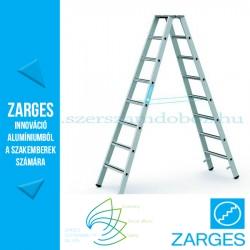ZARGES Saferstep B két oldalon járható állólétra 2x8 fok